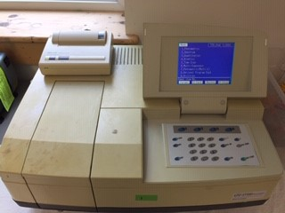 Shimadzu UV-1700 series spectrophotometer