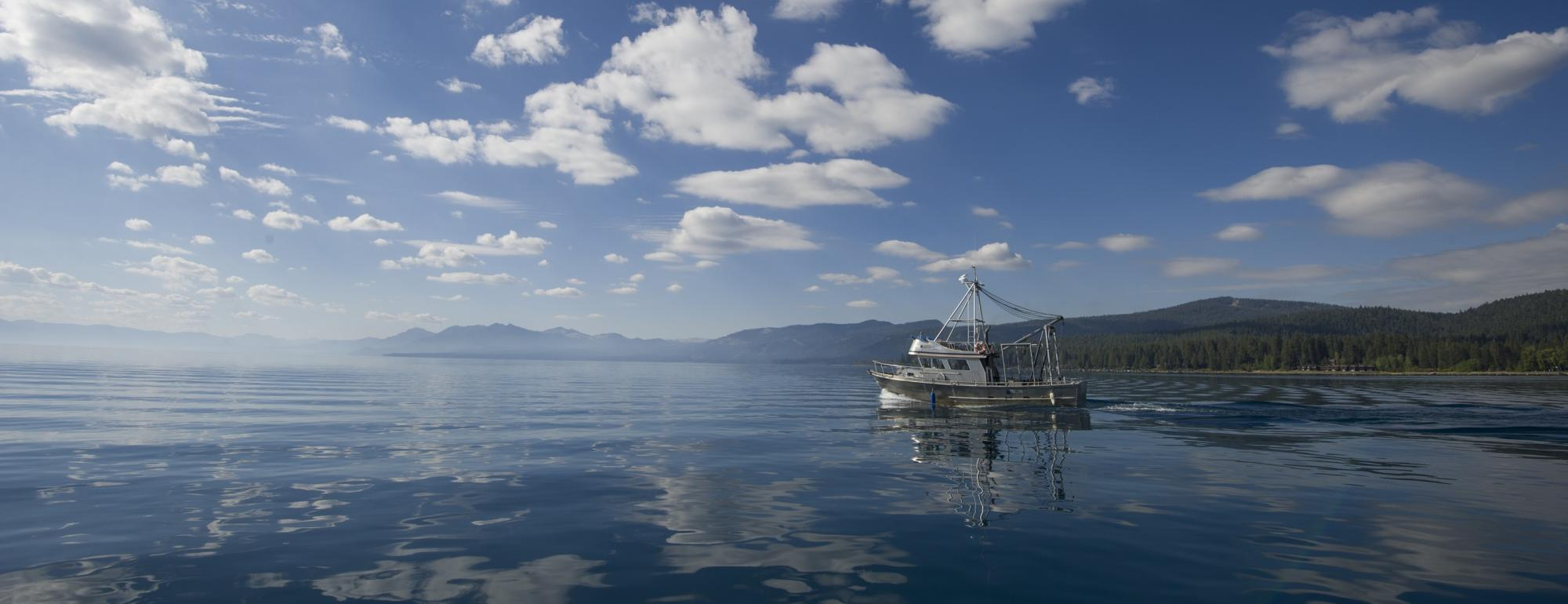 TERC Research Vessel on Lake Tahoe