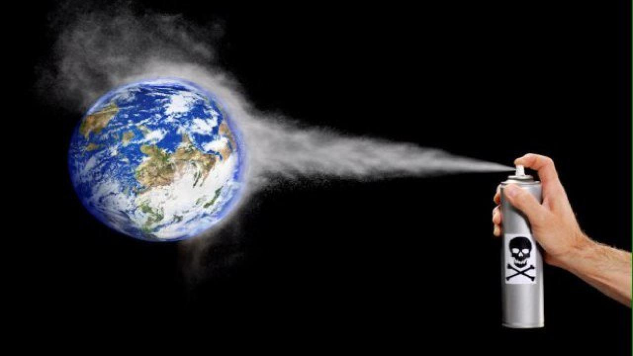 Effects of aerosols on the Earth