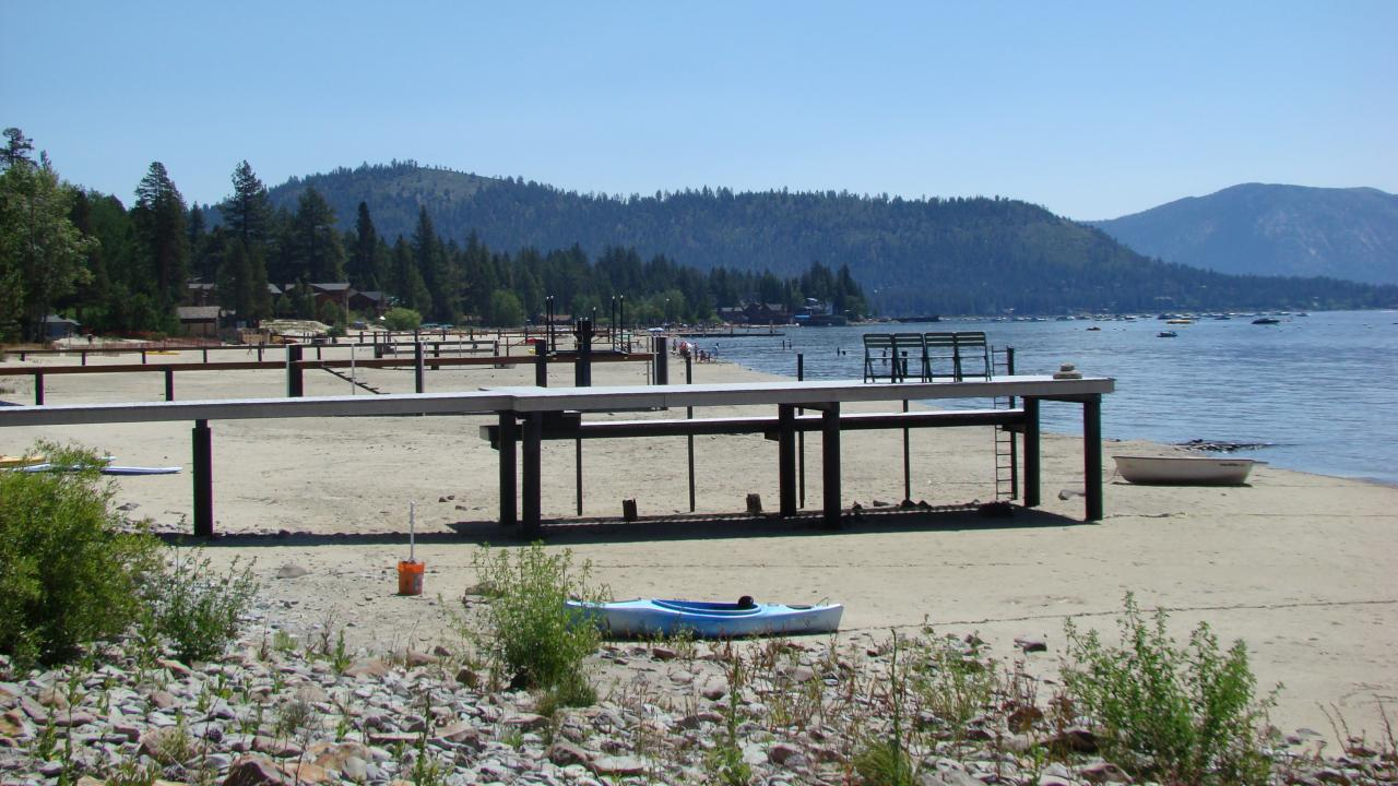 drought conditions in Tahoe